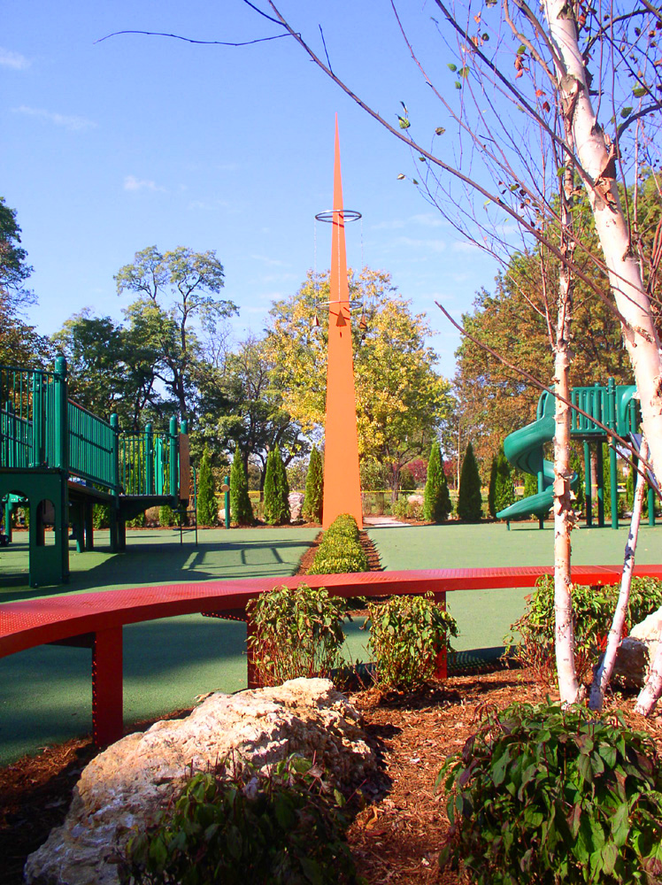 St. Louis Variety Children's Playground in Forest Park, St. Louis, Missouri (2005)
