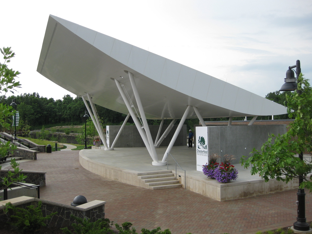 Chesterfield Amphitheater , Chesterfield, Missouri (2011)