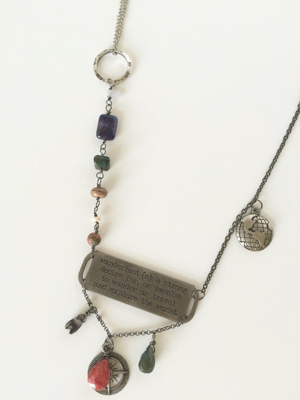 Asymmetrical Handmade Necklace