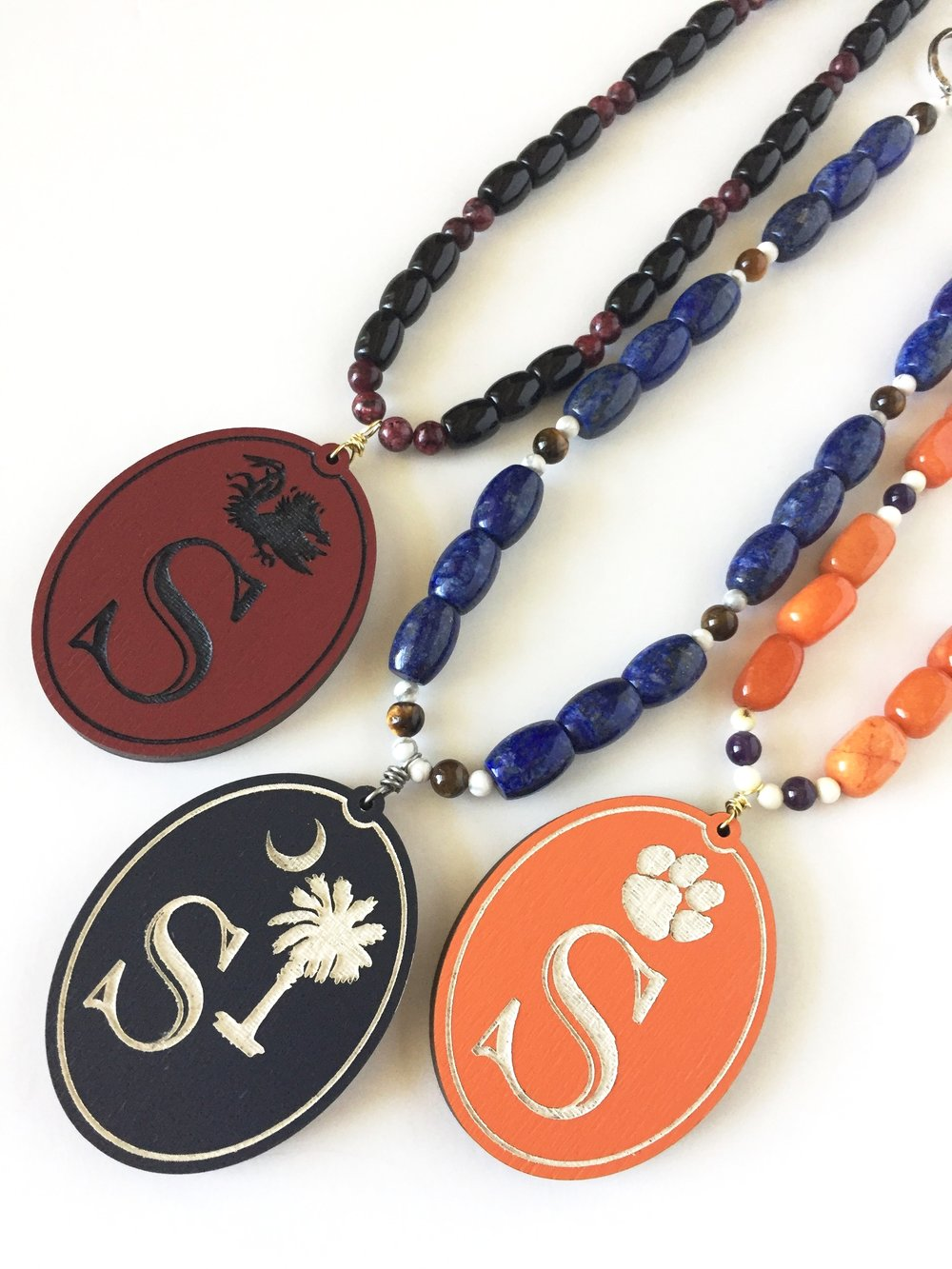 Personalized South Carolina Football Jewelry