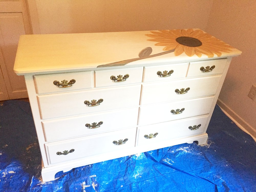 Mama's Dresser - After