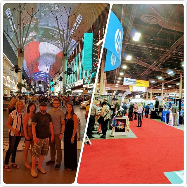 Great weekend at the ISA Sign Expo in Las Vegas, NV. #isasignexpo #signages #digitalprinting #wideformatprinter #signexpo2017