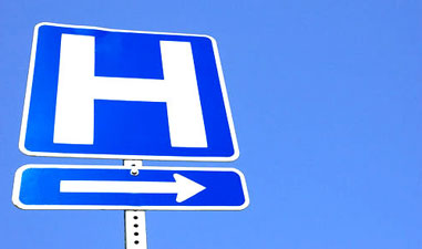 Image result for hospital sign