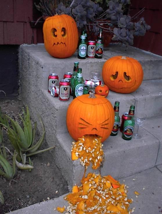 Too many pumpkin beers.