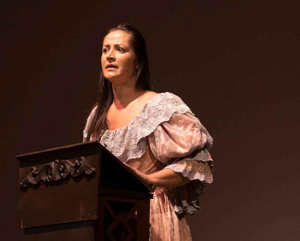 Cheri Maracle performs a Victorian Pauline
