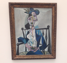 "Pablo Picasso, ""Seated Woman,"" 1941"