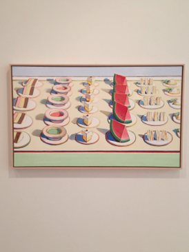 Wayne Thiebaud Lunch Table, 1964 Cantor Arts Center