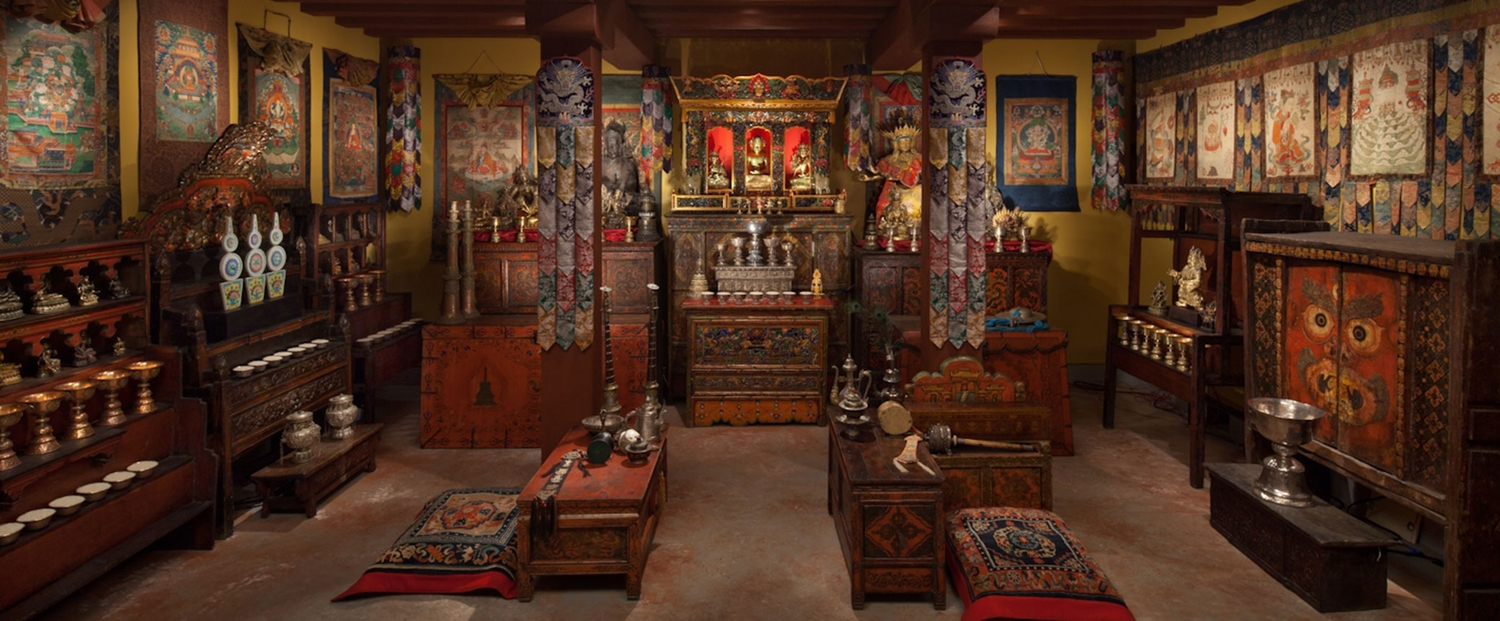Photo credit: Rubin Museum of Art website; The Shrine Room at the Rubin Museum