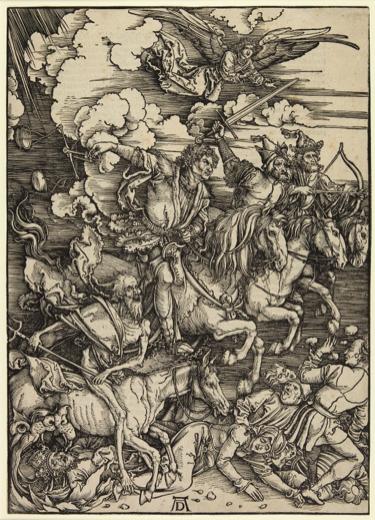 Albrecht Dürer, The Four Horsemen of the Apocalypse, 1498 Princeton University Art Museum