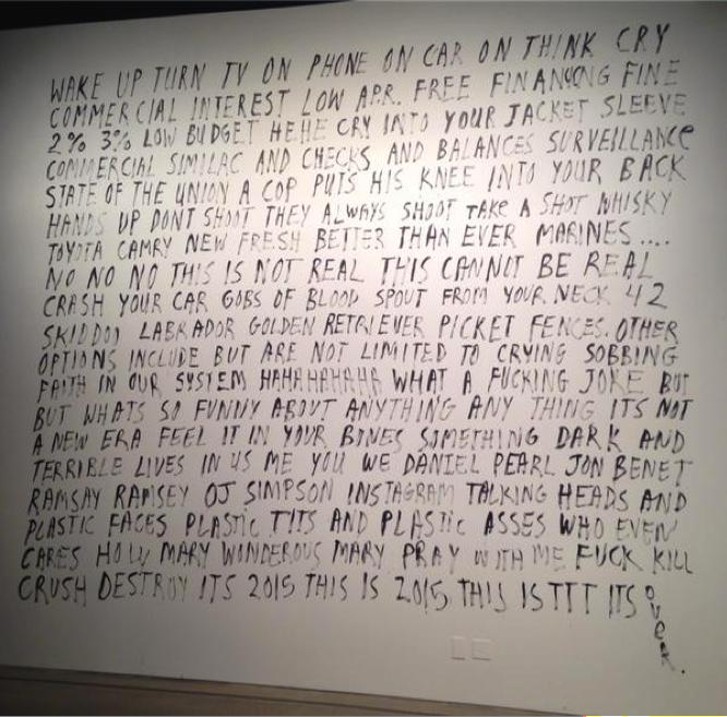 Harris Johnson,American Ramble (2015),Museum of Contemporary Art Cleveland.