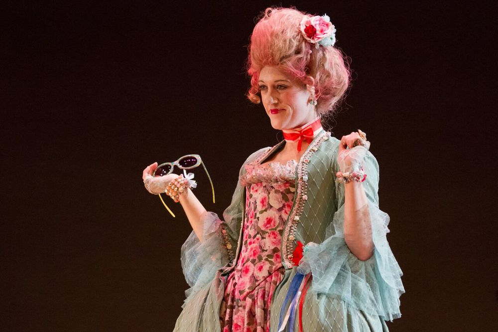 Marie Antoinette  The Revolutionists  Spring 2015 Costume Design by Aryna Petrashenko Photo by Teresa Wood
