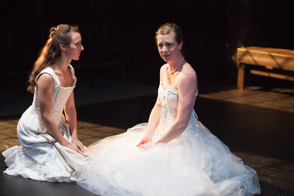 Women Beware Women    Directed by Lisa Wolpe With Eleanor Holdridge The Shakespeare Theatre's Academy for Classical Acting with GWU June 2015 Photo by Bee Two Sweet