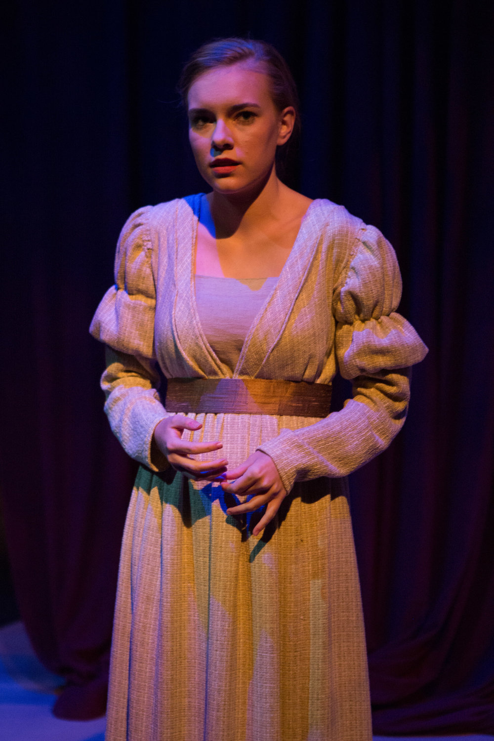 Bloody Poetry  by Howard Brenton Directed by Gregg Henry CUADrama - The Callan Theatre Teresa Wood Photography