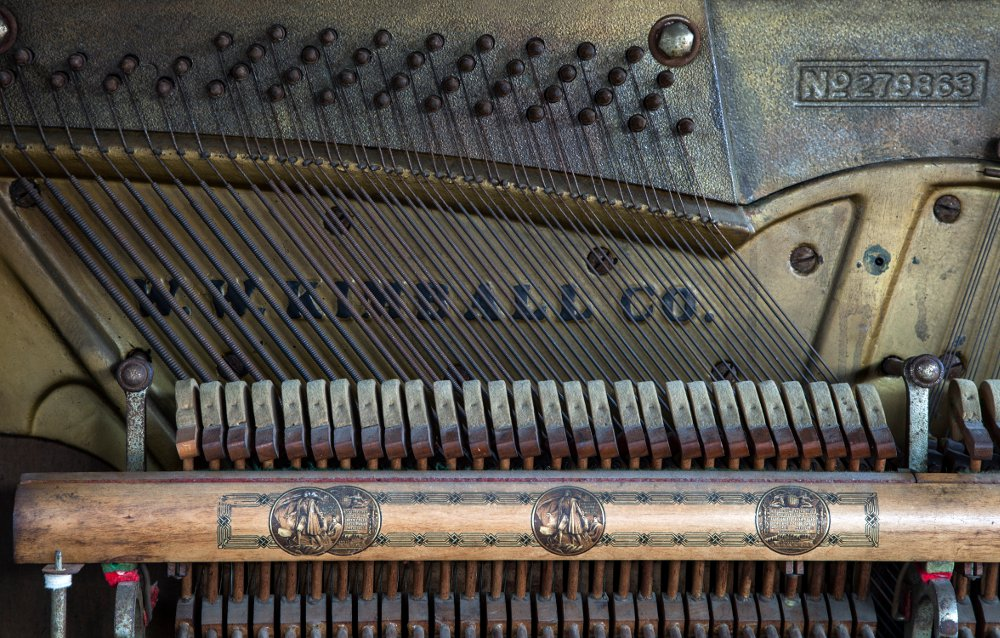 Kimball piano action