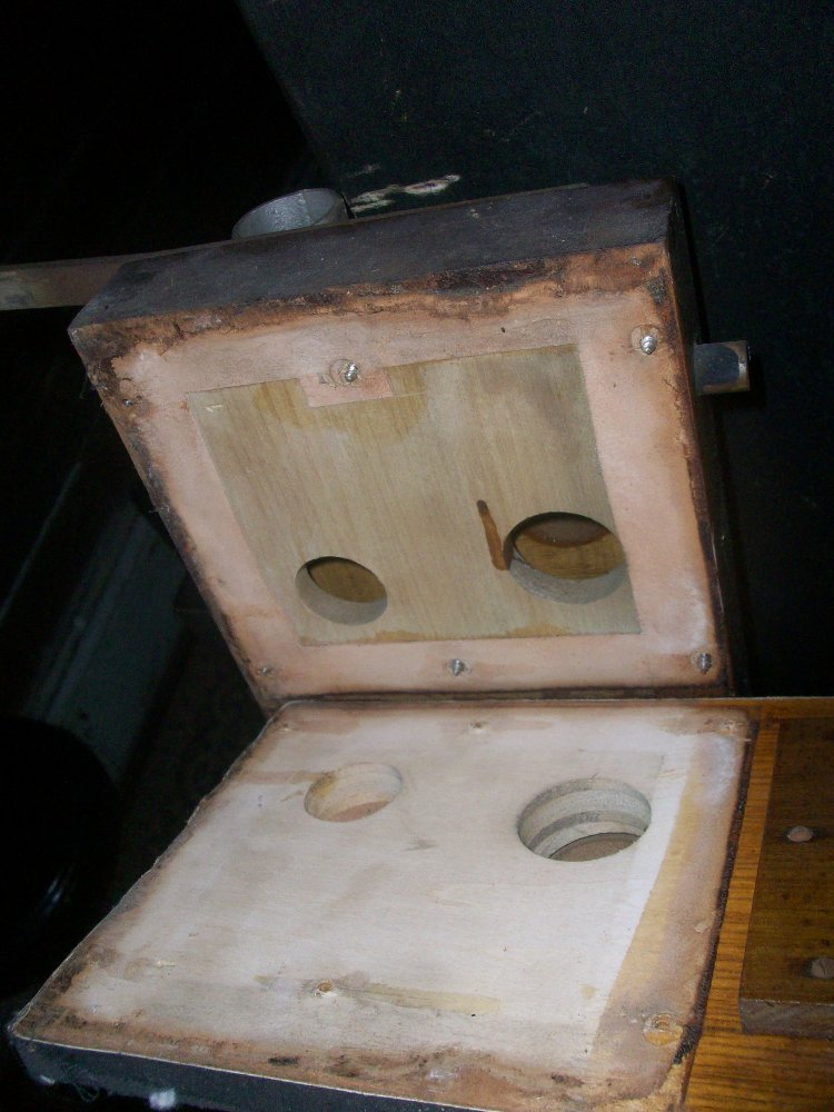 The second board removed from the trunk