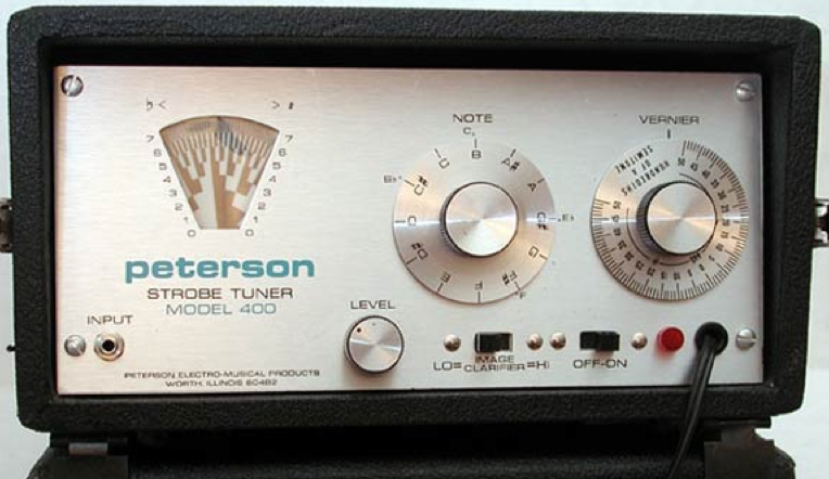 An early Peterson Strobe Tuner