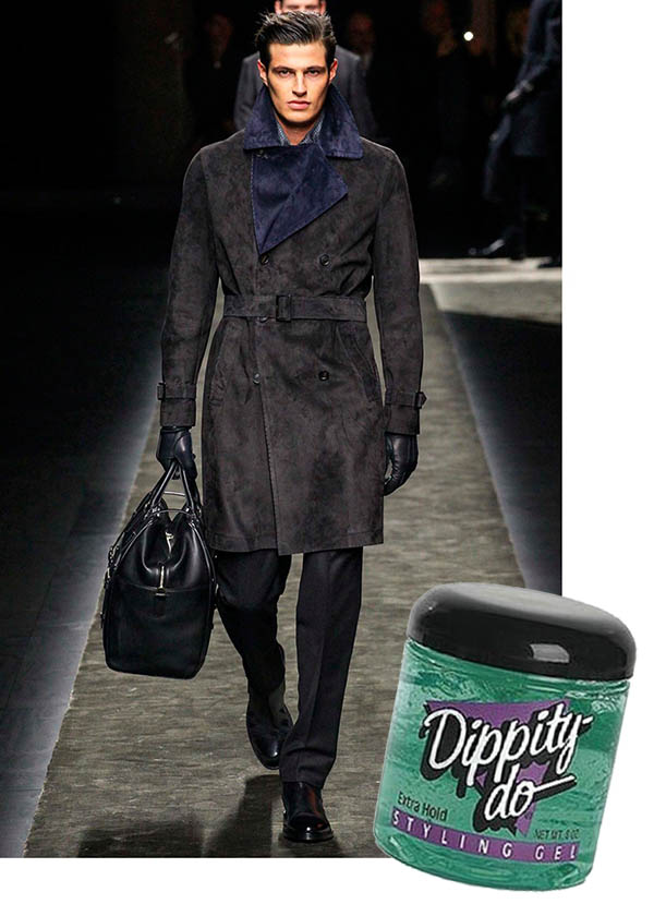 dry dippity-do for extra hold and shine