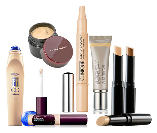 Concealers range in price and thickness. Experiment and find one that works for you. Ask for help at makeup counters!
