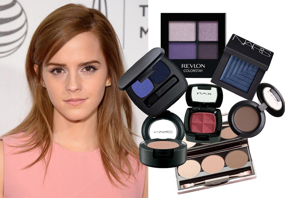 emma watson, makeup, red carpet makeup, makeup for eye color, celebrity makeup