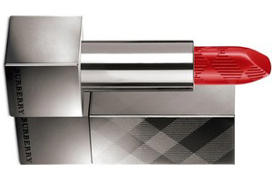 burberry kisses lipstick military red