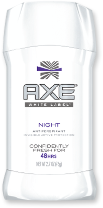 axe white label antiperspirant stick titsup