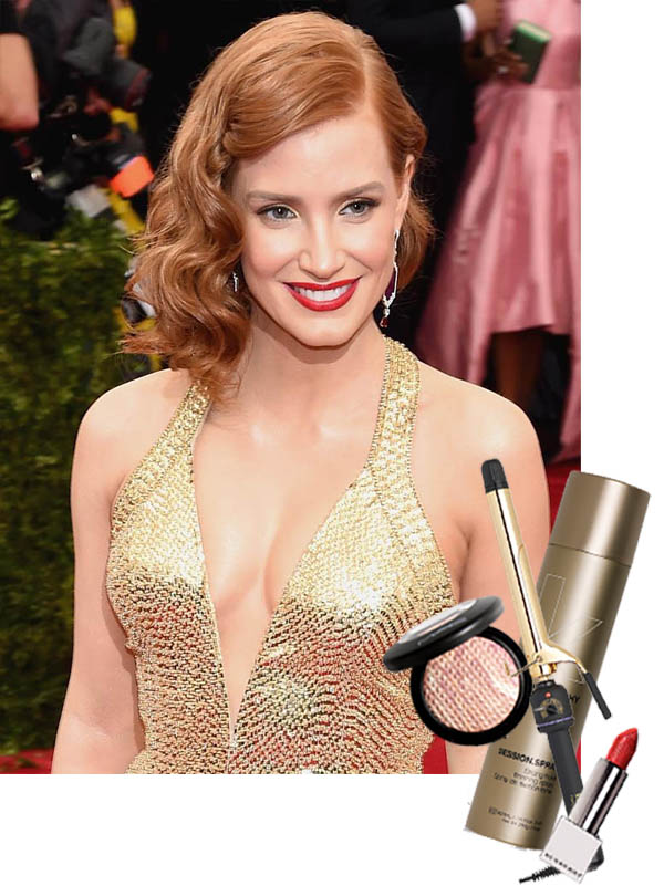 Jessica Chastain at Met Ball 2015
