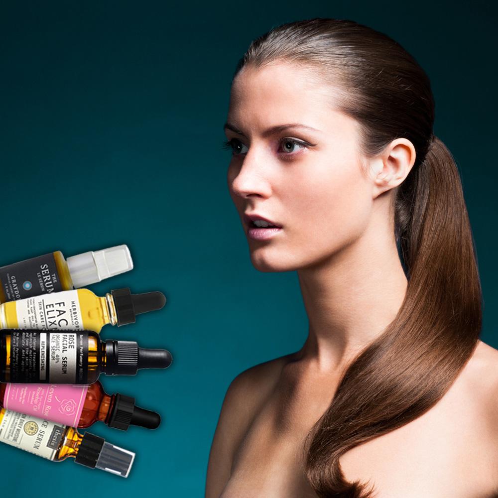 face serums, face oils, herbivore botanicals, graydon skincare, leven rose oils, face elixir, skincare