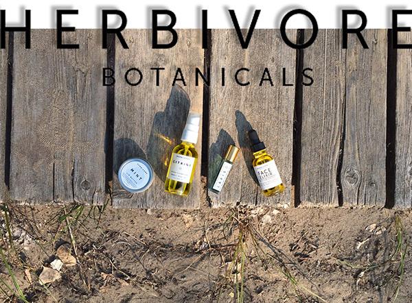 herbivore botanicals, herbivore, seattle, face oils, lip butter, mint, organic, natural, lapis oil, face elixir, citrine