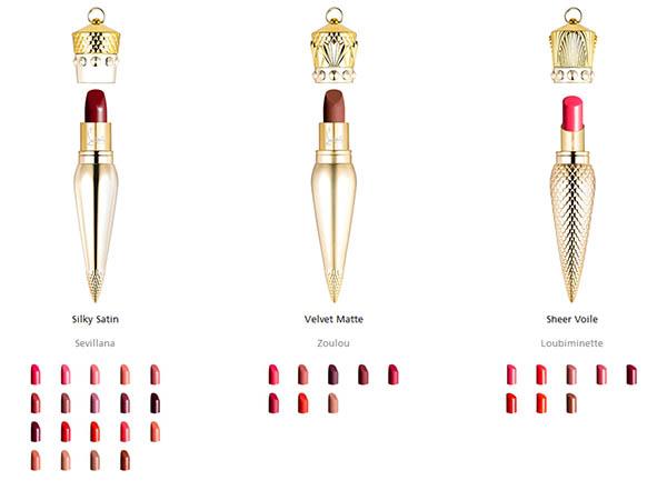 christian louboutin lipstick colors