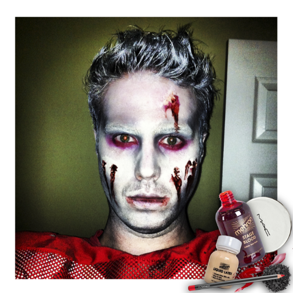 halloween makeup zombie titsup blog