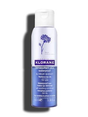 Klorane Water Proof Eye Makeup remover