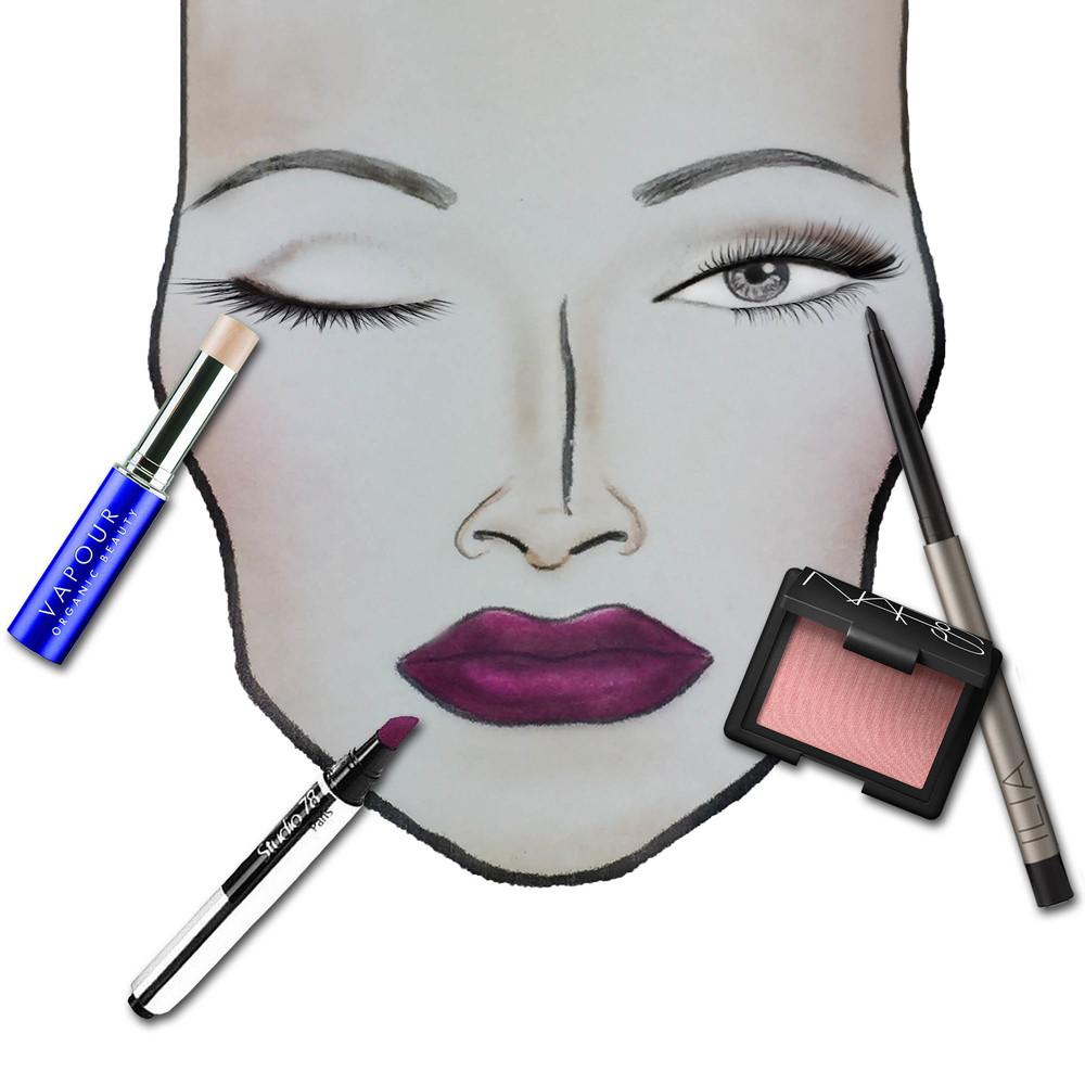 mac face chart 4