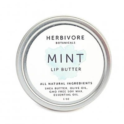 herbivore mint lip butter