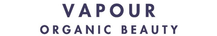vapour organic beauty logo