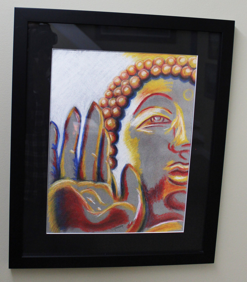 """Fire Gypsy, LLC - 11""""x14"""" Pastel Painting - Matted and Framed - Value $350"""