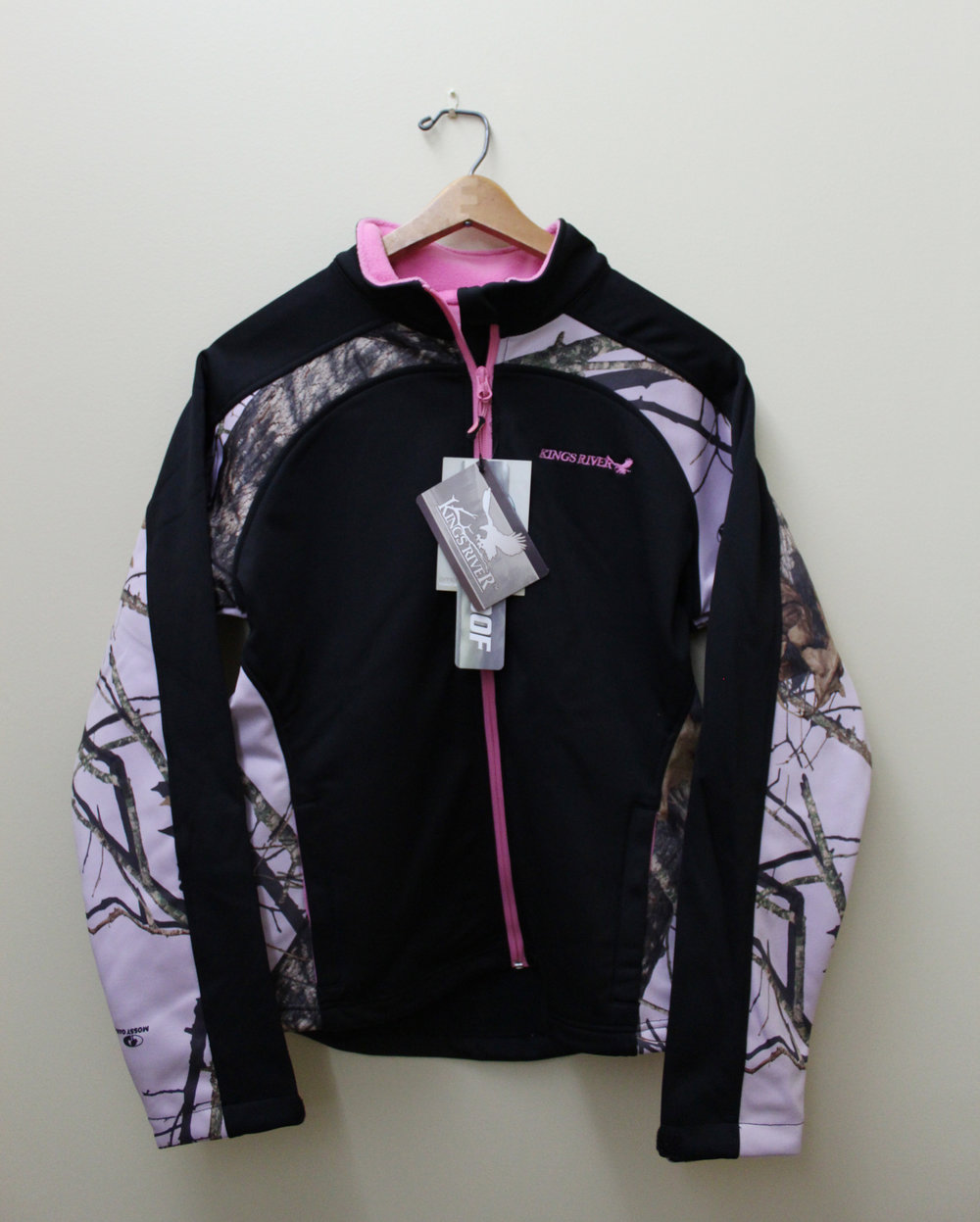 Mahco Inc. -Women's Performance Softshell Jacket with pink camo accents - S thru XL - Value $280
