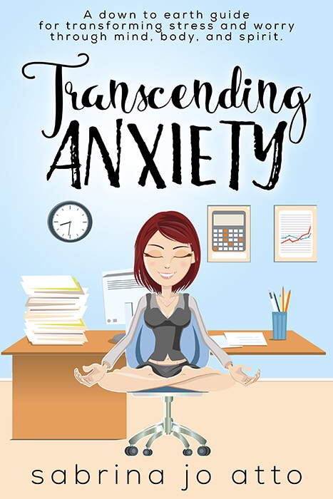 Sabrina Atto  -Private Yoga Session and her new book  Transcending Anxiety  - Value $88