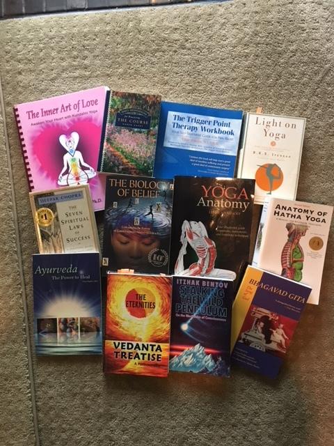 Stevie G's Yoga Anatomy Books.JPG