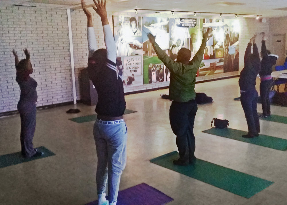 I make it a part of my daily routine… - I participated in the Total Me Zone yoga program at the Cov. At first I didn't like it, but now I make it a part of my daily routine. It really helps me start the day, remain focused, and relax at the end of a stressful day.- Covenant House Participant