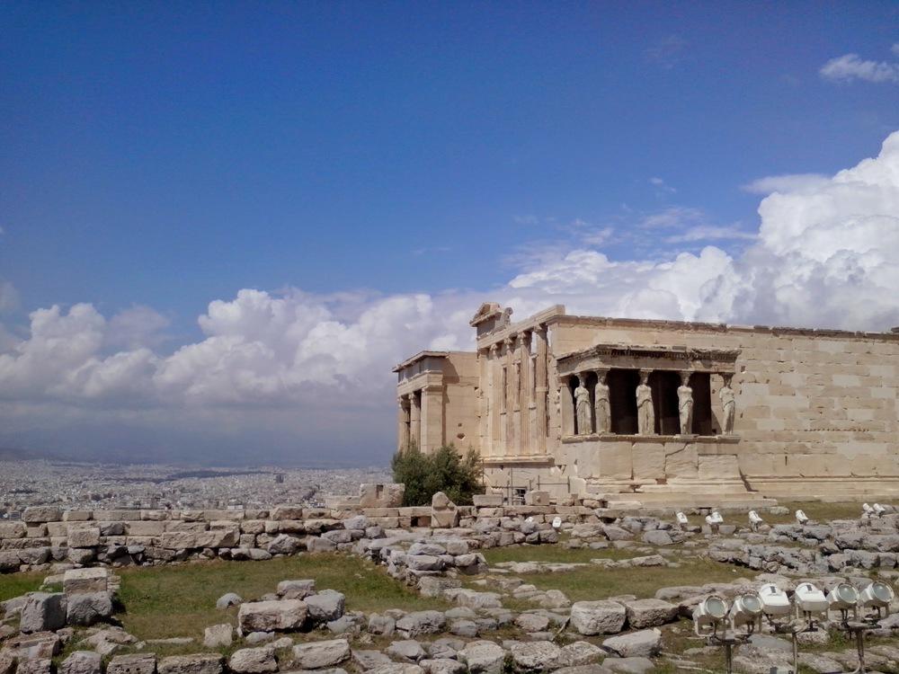 Iconic Erechtheion,Next to the Acropolis.