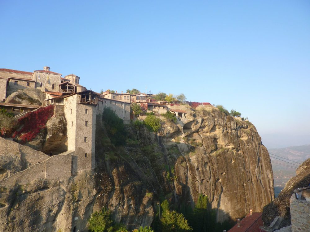 Morning light on first Monastary, Grand Meteoro