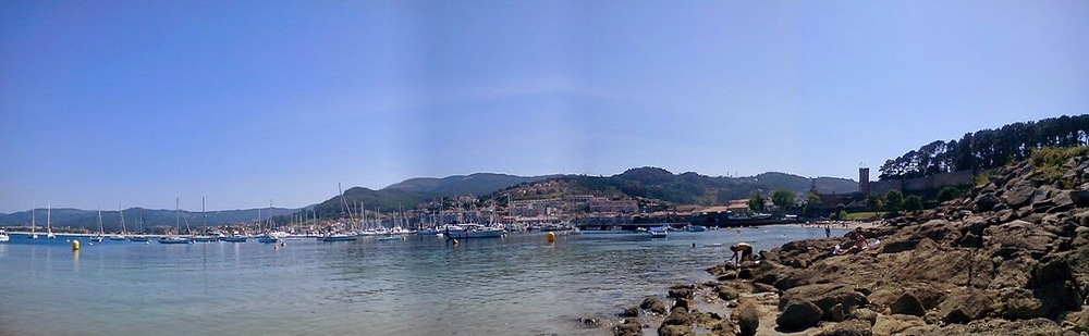 A walk to the castle. Baiona, Spain