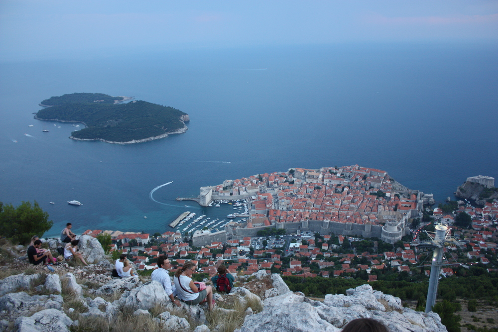 Dubrovnik from the cable car
