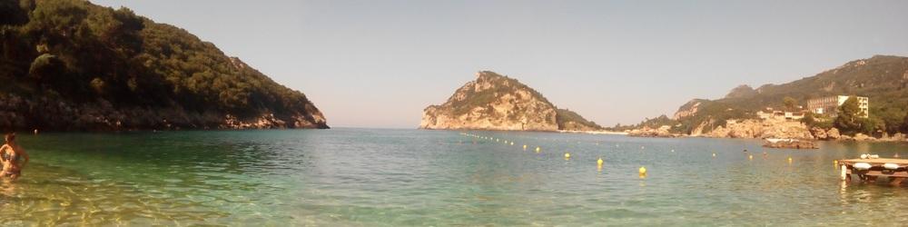 Akrotiri beach, Palaiokastritsa