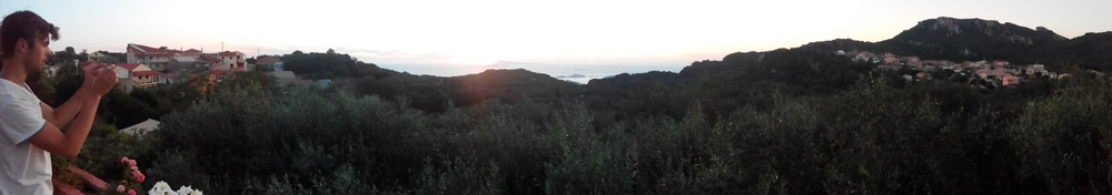 Krini, Corfu sunset