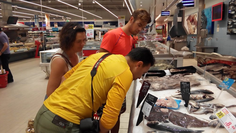 Picking the right fish @the supermarket