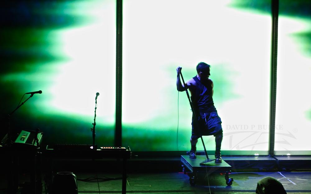 Frontman Trent Reznor photo: David Burke