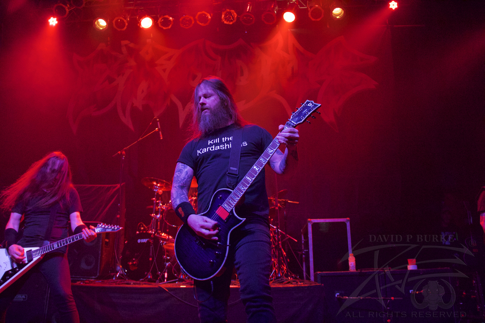 Exodus' Gary Holt   photo: David Burke