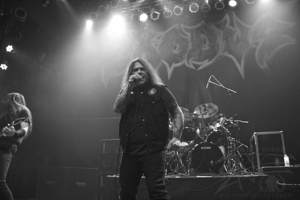 Exodus' lead singer Steve Souza    photo: David Burke