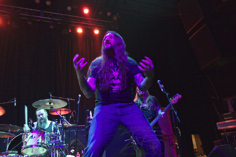 Orange Goblin Lead singer Ben Ward    photo: David Burke